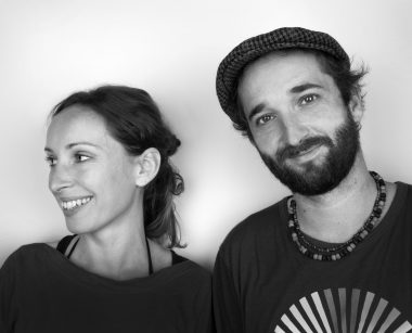 Das Bild zeigt das Filmteam der Produktion Frequenzen, Roland Horvath und Carmen Zimmermann.