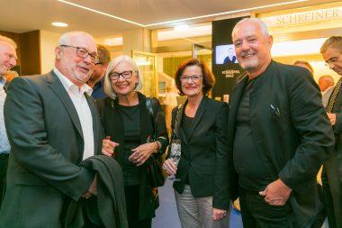 Peter Grabensberger mit Begleitung, Elgrid Messner, Martin Hochegger (c) Sabine Hoffmann/Schauspielhaus Graz