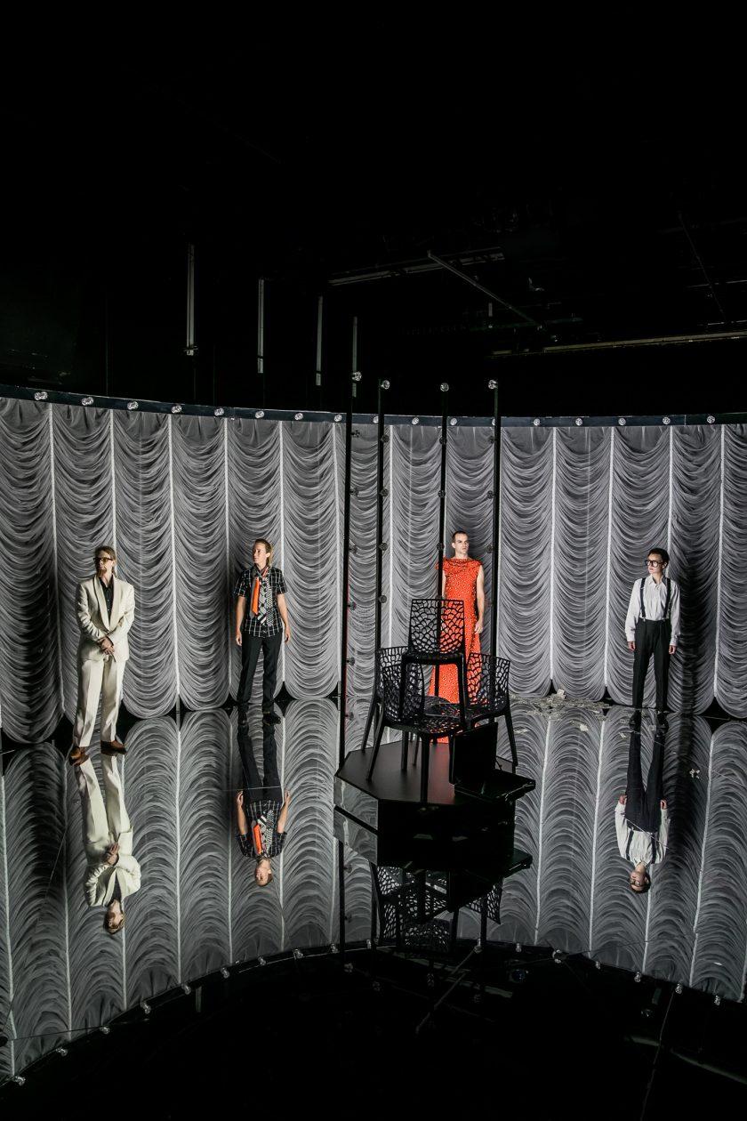 TRAM83 Maximiliane Haß, Sarah Sophia Meyer, Pascal Goffin, Tamara Semzov (c) Lupi Spuma _ Schauspielhaus Graz _ 092